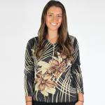 Slinky Style Tops - Beaded Long Sleeve*