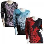 Slinky Style Tops - Beaded Long Sleeve