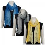 Scarves - Variegated Crinkle