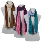 Scarves - Two-Tone Crinkle 908081