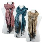 Scarves - Crinkle Checkered 648