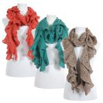 Scarves - Ruffle Knit 4067