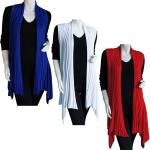Magic Convertible Long Ribbed Sweater Vest