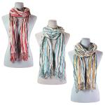 Scarves - Vertical Stripe 684