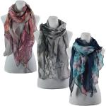 Scarves - Scalloped Floral  2065