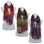 Scarves - Multi Leopard 3131