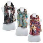 Scarves - Abstract Floral 3138