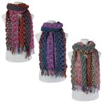 Scarves - Comb Texture Puff 3504