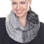 Infinity Scarves - Patchwork Crochet 4302*
