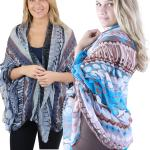 Big Scarves/Shawls - Geometric Designs 1043*