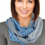 Infinity Scarves - Polka Dot/Stripe 8302*