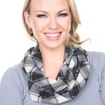 Infinity Scarves - Plaid 5011 & 5077