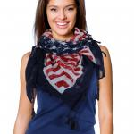 Square Scarves - U.S. Flag 1320