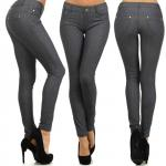 Jeggings Solid Super Stretch 827JN