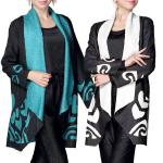 Art Crush Cardigan - Modern Abstract Design