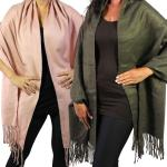 C Shawls - Mohair Feel Solid 266