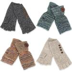 Fingerless Gloves - Button Deco 3515 & 3517