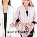 Ruana Capes - Sparkle Metallic 7431