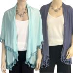 Vests - Solid w/ Tassels 511