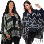Winter Ruana Capes - Prints