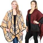 Fall/Winter Ruana - Plaids, Houndstooth, & Tweeds