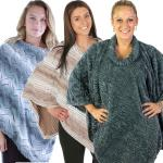 Fall/Winter Ponchos - Fur Designs
