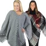 FallWinter Ponchos - Plaids, Checks, & Houndstooth