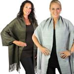 Fall/Winter Shawls - Solid & Multi Color