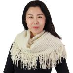 Infinity Scarves - Lurex Waffle Knit 9058