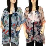 Kimono - Flower Design with Sequins 9151