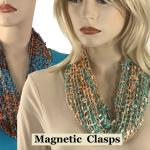Magnetic Clasp Scarves (Confetti)