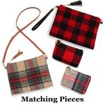 Crossbody Bags & Coin Purses - Plaids