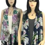 Vests - Pin Hole Design 8161 & 8261 (Style 2)