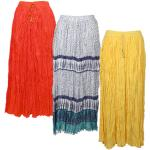 Skirts - Long Cotton Broomstick with Pocket