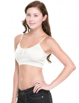 Seamless Adjustable Strap Bra with Pad 17A