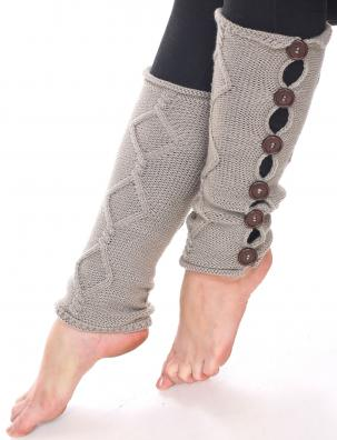 C Six Button Leg Warmers 5090