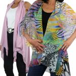Lightweight Kimonos, Shrugs, & Vests
