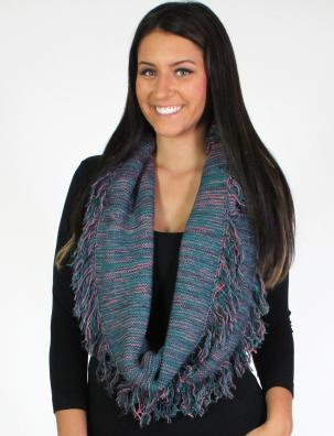 Infinity Scarves - Multi Color Knit 8629