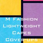 Lightweight Capes and Cover-ups