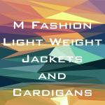 Lightweight Jackets and Cardigans