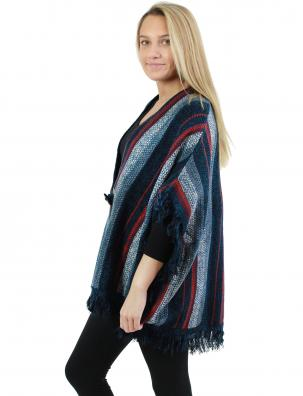 Sweater Cardigan - Multi Color Tasseled 0196