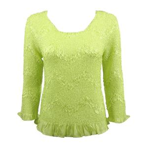 Wholesale  Light Green Three Quarter Surf Crush Top - One Size (S-XL)