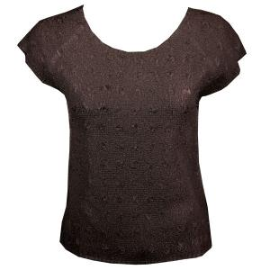 wholesale Flower Crush - Cap Sleeve* Brown - One Size (S-XL)
