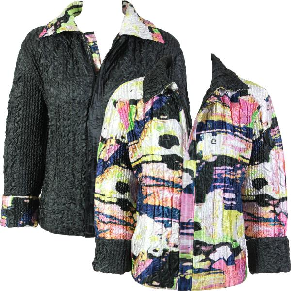 Wholesale Quilted Reversible Jackets #5808 - XL-2X
