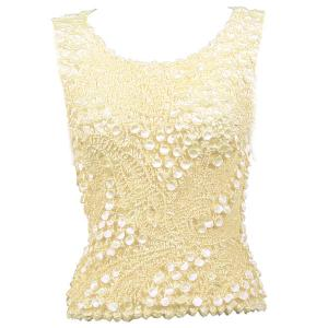 wholesale Pinpoint Coin - Sleeveless Ivory - One Size (S-XL)