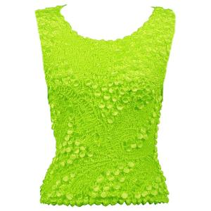 wholesale Pinpoint Coin - Sleeveless Vivid Green - One Size (S-XL)