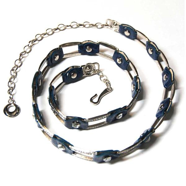 Belts - Metal & Chain* L6059 - Navy -