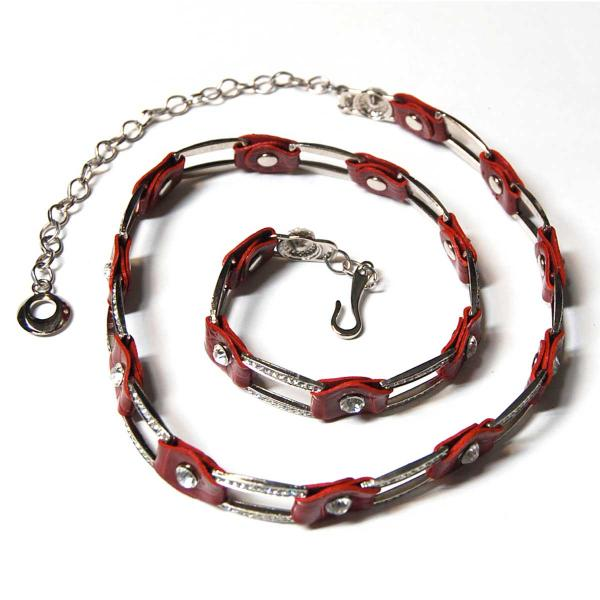 Belts - Metal & Chain* L6059 - Red -