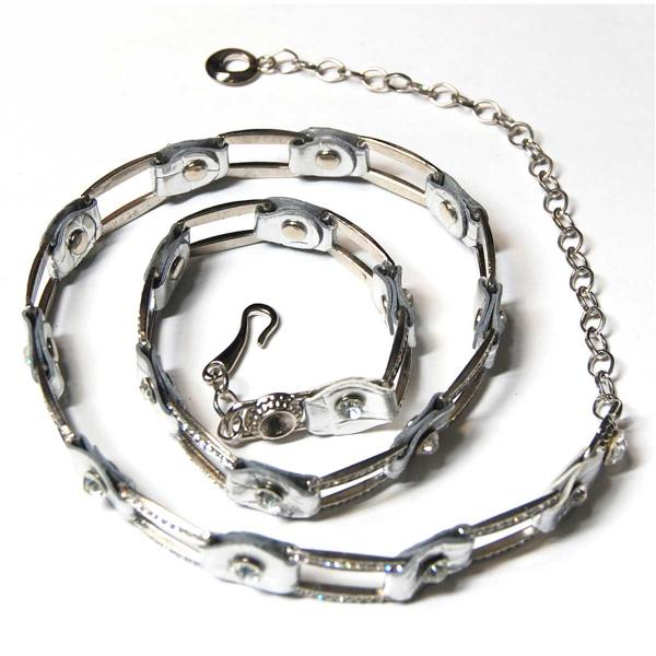 Belts - Metal & Chain* L6059 - Silver -
