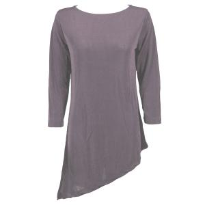 Slinky Travel Tops - Asymmetric Tunic* Lavender - One Size (S-L)